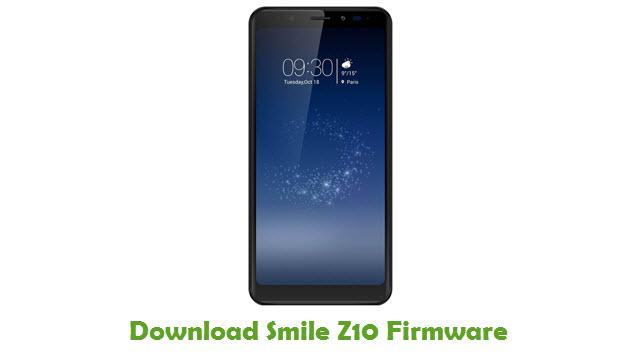 Smile Z10 Stock ROM