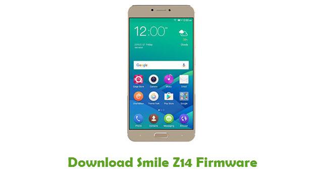 Smile Z14 Stock ROM