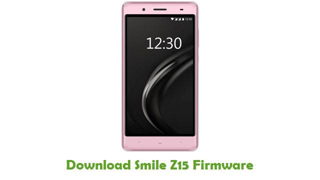 Smile Z15 Stock ROM
