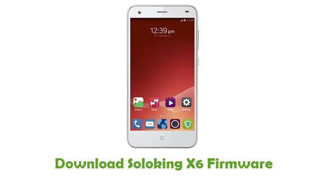 Soloking X6 Stock ROM