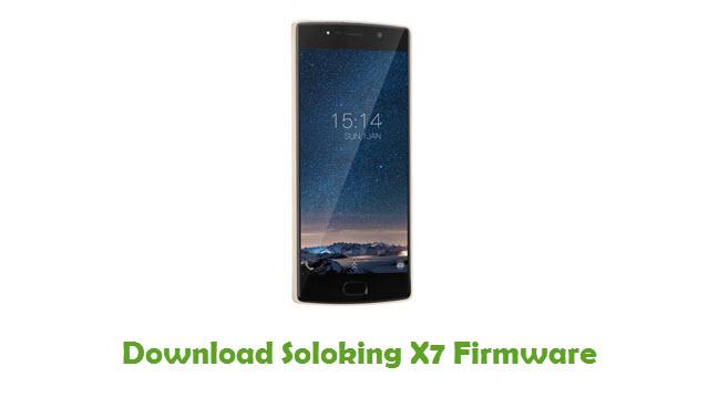 Soloking X7 Stock ROM