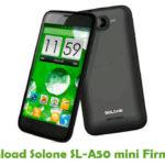 Solone SL-A50 mini Firmware