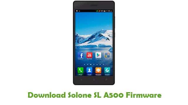 Solone SL A500 Stock ROM