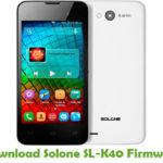Solone SL-K40 Firmware