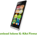 Solone SL-KA4 Firmware