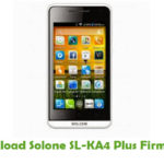 Solone SL-KA4 Plus Firmware