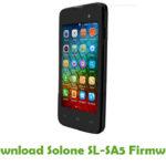 Solone SL-SA5 Firmware