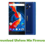 Ulefone Mix Firmware
