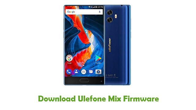 Download Ulefone Mix Firmware