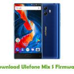 Ulefone Mix S Firmware