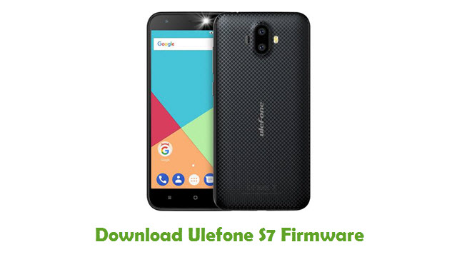 Download Ulefone S7 Firmware
