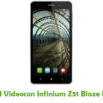 Videocon Infinium Z51 Blaze Firmware