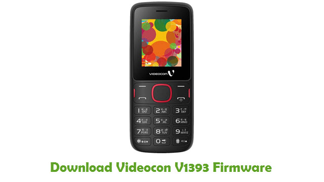 Download Videocon V1393 Firmware