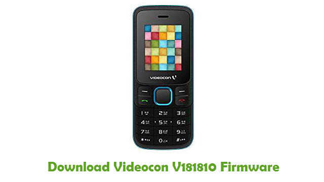 Videocon V181810 Stock ROM