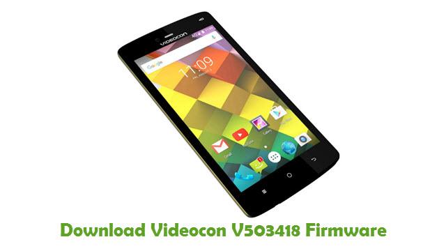 Download Videocon V503418 Firmware