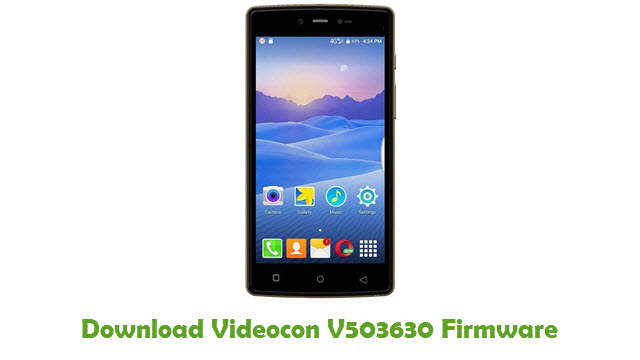 Download Videocon V503630 Firmware