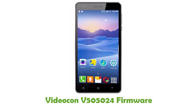 Download Videocon V505024 Firmware