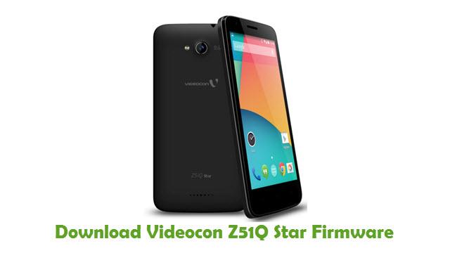 Download Videocon Z51Q Star Firmware