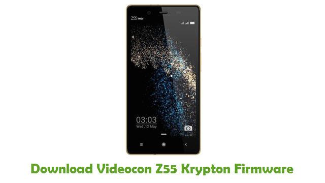 Download Videocon Z55 Krypton Firmware
