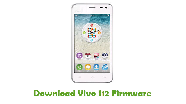 Download Vivo S12 Firmware