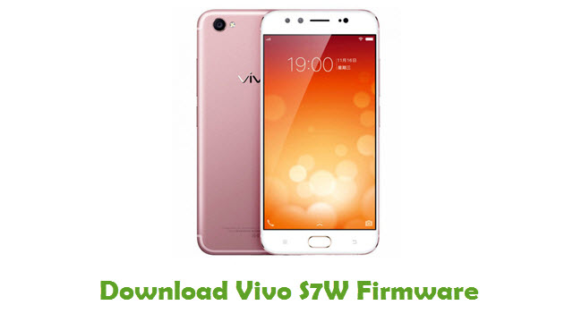 Download Vivo S7W Firmware