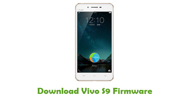 Vivo S9 Stock ROM