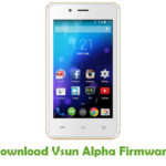 Download Vsun Stock ROM For All Models   Stock Android ROM