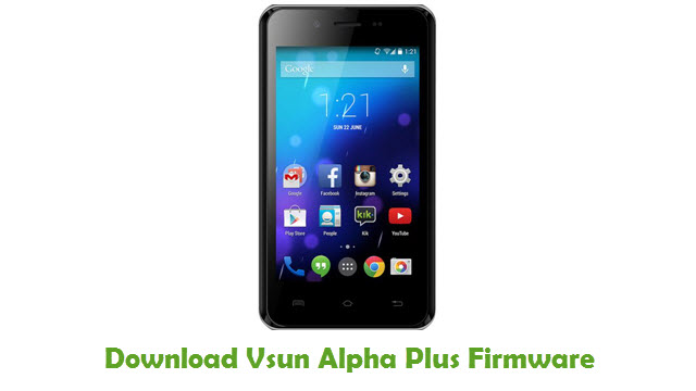 Vsun Alpha Plus Stock ROM