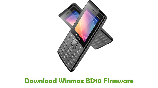 Download Winmax BD10 Firmware