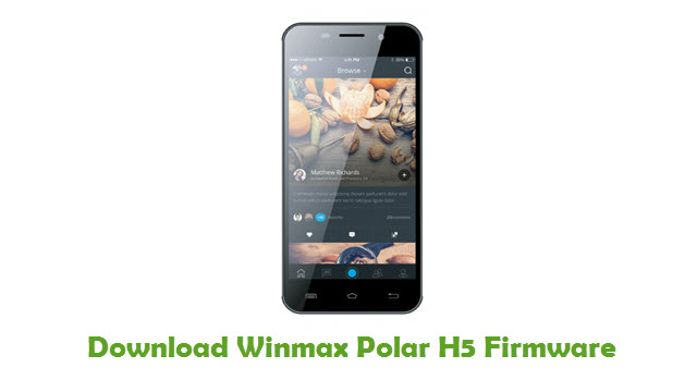 Download Winmax Polar H5 Firmware