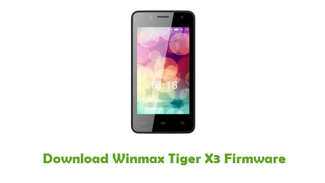 Download Winmax Tiger X3 Firmware