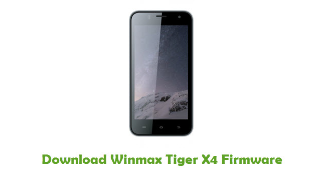 Download Winmax Tiger X4 Firmware