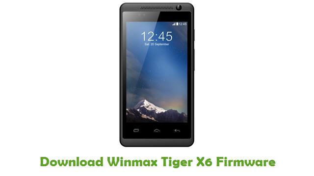 Download Winmax Tiger X6 Firmware