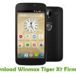 Winmax Tiger X7 Firmware