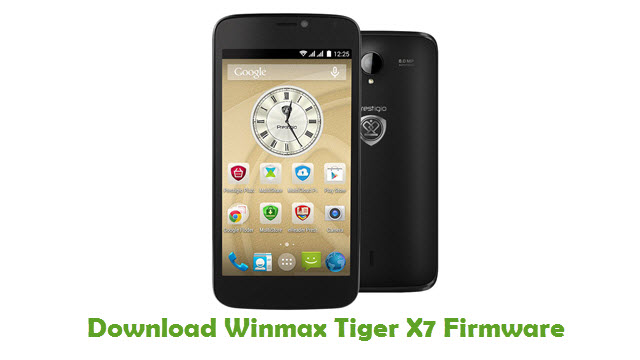 Download Winmax Tiger X7 Firmware