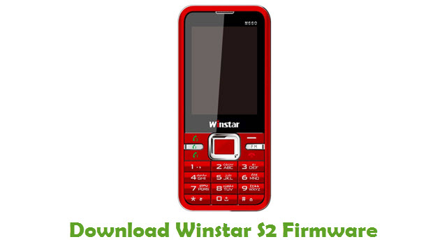 Winstar S2 Stock ROM