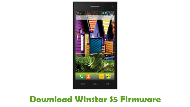Download Winstar S5 Stock ROM