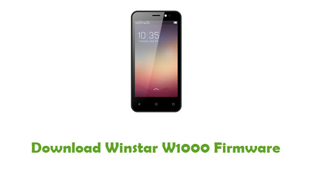 Download Winstar W1000 Firmware