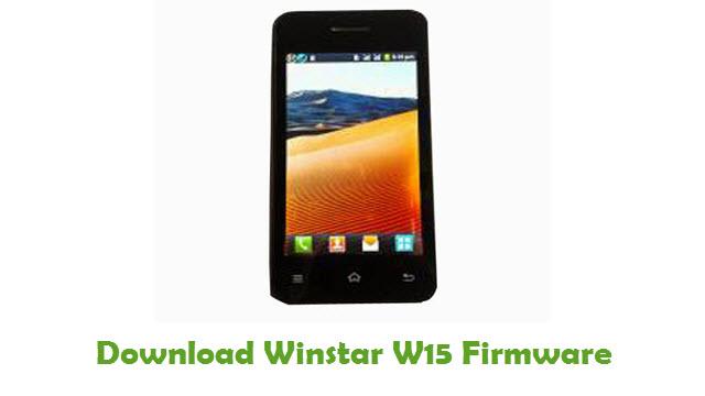 Winstar W15 Stock ROM