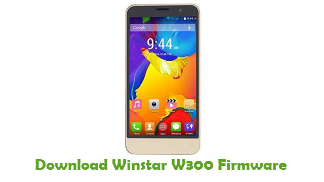 Download Winstar W300 Firmware