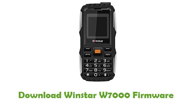 Download Winstar W7000 Firmware