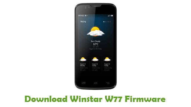 Download Winstar W77 Firmware