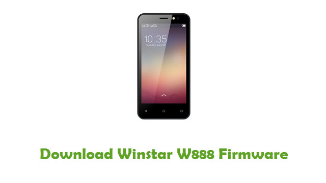 Download Winstar W888 Firmware