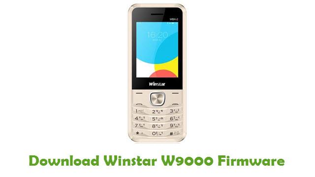Winstar W9000 Stock ROM