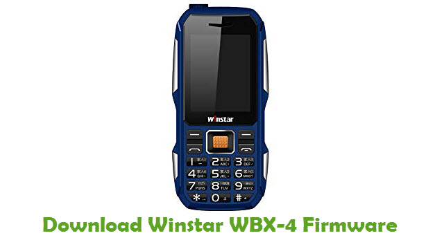 Download Winstar WBX-4 Firmware