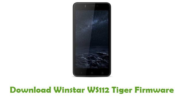 Download Winstar WS112 Tiger Firmware