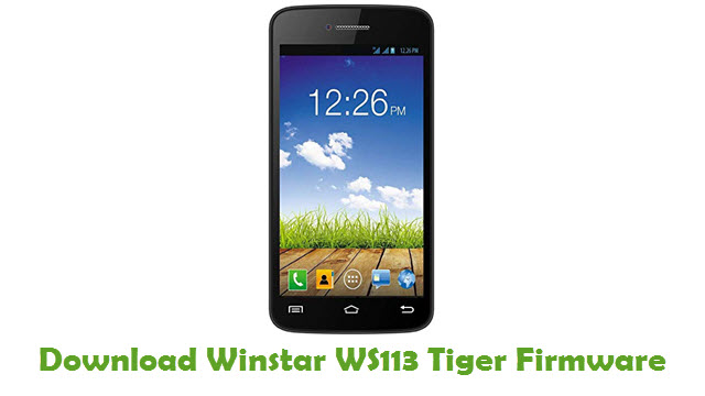 Download Winstar WS113 Tiger Firmware