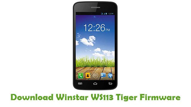 Winstar WS113 Tiger Stock ROM