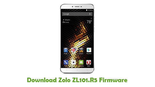 Download Zolo ZL101.R5 Firmware