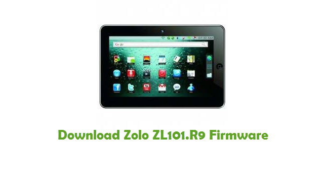 Download Zolo ZL101.R9 Firmware